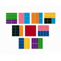 Deluxe Rainbow Fraction® Squares