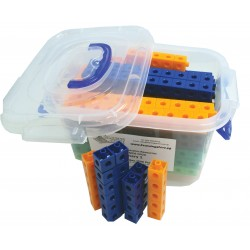 Multi-Link (Snap Link) Cubes,Set of 500 pcs in storage container