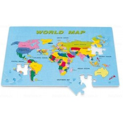 World Map Floor Puzzle, 54 Pieces