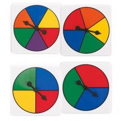 Colour Spinners, Set of 4