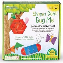 Shapes Don't Bug Me™ Geometry Activity Set