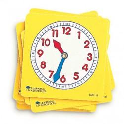 Pupil Clock Dials, Set of 10