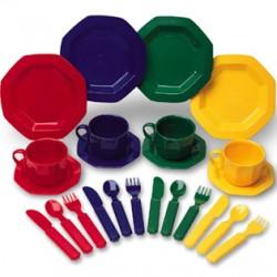 Pretend & Play® Dish Set, Set of 24