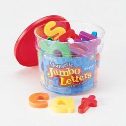 Jumbo Lowercase Magnetic Letters, Set of 40