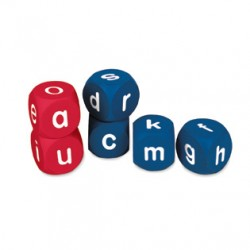 Lowercase Alphabet Cubes, Set of 6