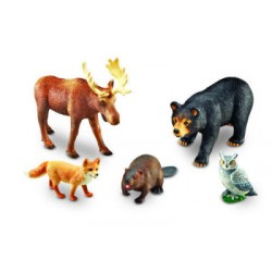 Jumbo Forest Animals, Set of 5