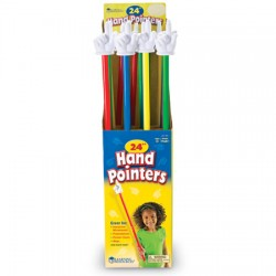 """24"""" Hand Pointers, Set of 16"""