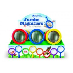 Jumbo Magnifier Countertop Display - Set of 12 Pop