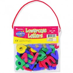 Magnetic Foam Lowercase Letters, Set of 52