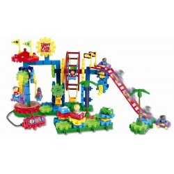 Gears! Gears! Gears!® Dizzy Fun Land™ Motorized Gears Set, Set of 120