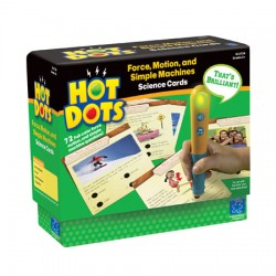 Hot Dots® Science Set, Force, Motion, and Simple Machines