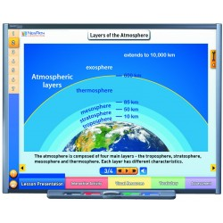 Earth's Atmosphere & Weather Multimedia Lesson - (Site License)