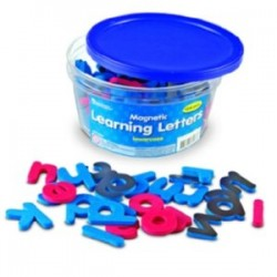 Lowercase Magnetic Learning Letters, Set of 104