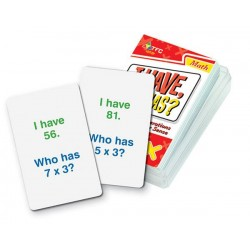 I Have, Who Has? Basic Operations - Multiplication